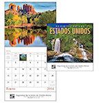 Paisajes de los Estados Unidos Wall Calendars